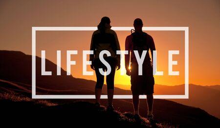 behavior: Lifestyle Way of Life Passion Habits Behavior Concept