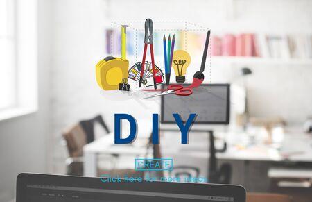 Handmade Do It Yourself Equipment Concept
