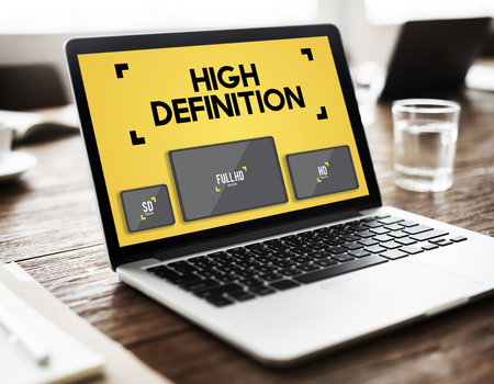 high definition: High Definition Images Network Resolution Stream Concept