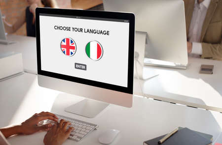 a faction: Language Dictionary English Italian Concept