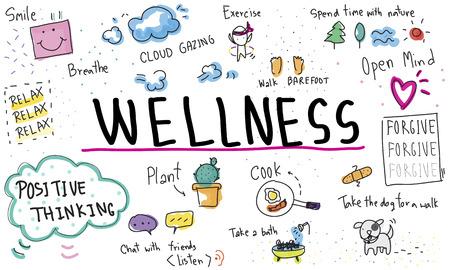 optimism: Mindfulness Optimism Relax Harmony Concept
