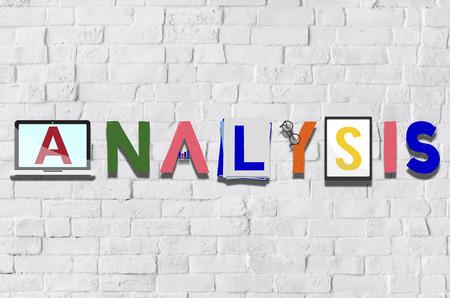 reseach: Analysis Analytics Strategy Insight Data Concept