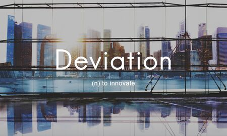 Deviation Innovate Changes Development Improvement Concept