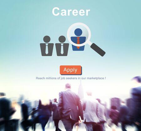 Career Job Profession Apply Hiring Concept Stock Photo