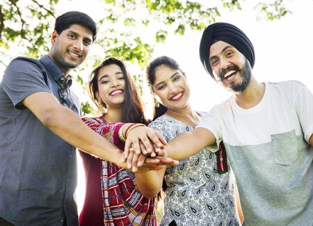 ethnicity: Indian Ethnicity Friendship Togetherness Concept