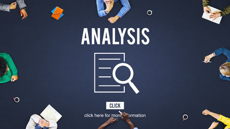 observing: Analysis Results Discovery Investigation Concept Stock Photo