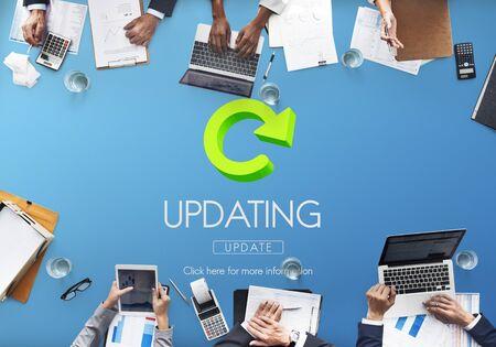 updating: Updating Upgrade New Download Improvement Concept