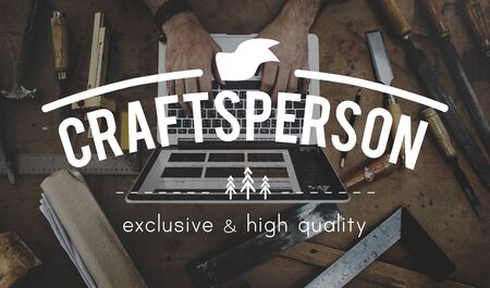 craftsperson: Craftsperson Manual Workshop Craft Tool Work Concept