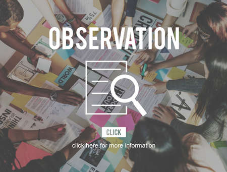 investigation: Observation Research Investigation Discovery Concept