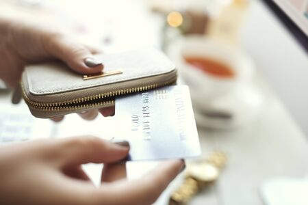 consumer: Shopping Online Commercial Consumer Spending Concept