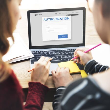 Authorization Permission Accessible Security Concept Stock Photo