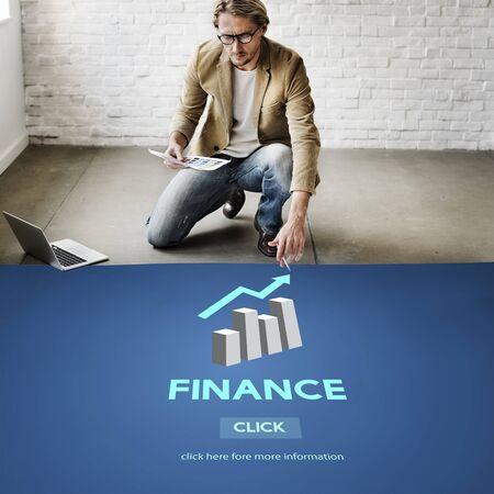 Finanzen Finanzwesen Gleichgewicht Economy-Konzept