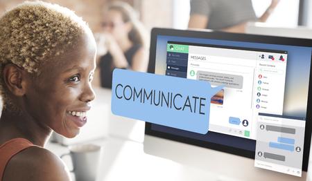 comunicarse: Concepto comunicarse comunicación conversación