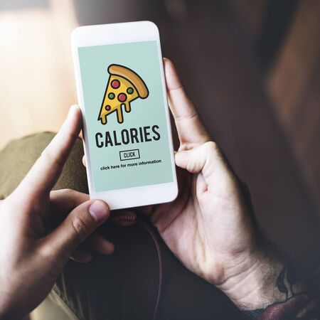 bad planning: Calories Junk Food Unhealthy Obesity Concept Stock Photo