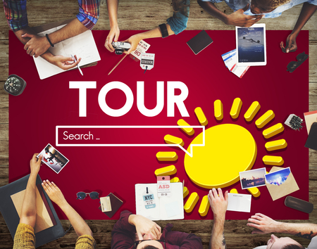 Tour with planning concept