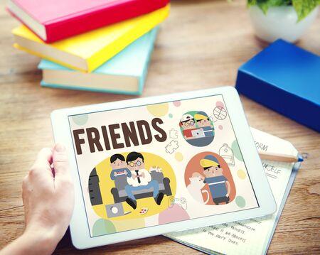 fellowship: Friends Friendship Activity Leisure Concept