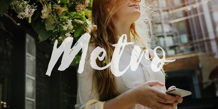 live work city: Metro Life Lifestyle Motivation Passion Concept