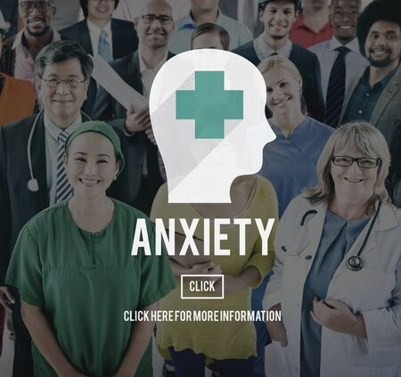 unease: Anxiety Disorder Apprehension Medical Concept