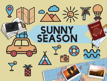 soak: Travel Vacation Sun Fun Enjotment Concept