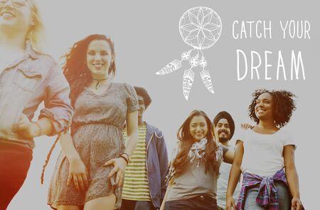 believe: Catch Dream Believe Aspiration Motivation Concept