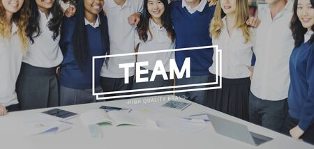 liberate: Team Support Togetherness Cooperation Partnership Concept