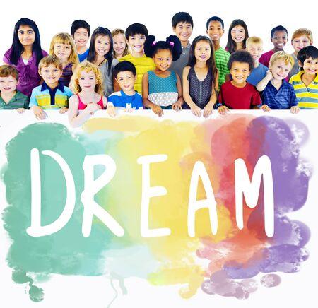 Dream Hoopvol Inspiration Imagination Goal Vision Concept