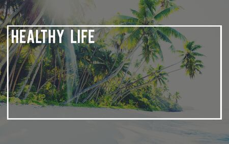 Healthy Life Nature Ecology Global Journey Concept