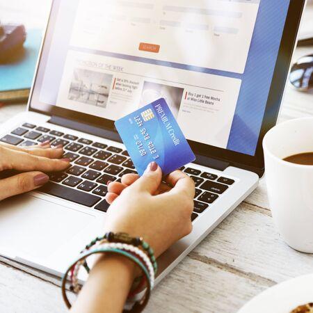flight booking: Flight Booking Payment Laptop Concept