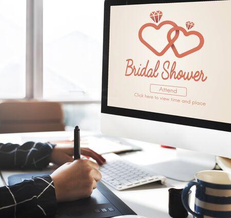 bachelorette party: Bridal Shower Bachelorette Party Celebration Marriage Concept