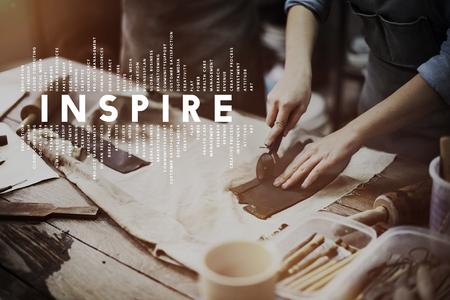 inspire: Inspire Inspiration Creative Motivate Imagination Concept