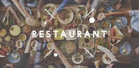 kulinarne: Restauracja Bistro Kulinarne Kuchnia Cafeteria Food Concept