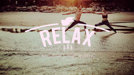 chill: Relaxation Calm Chill Peace Resting Vacation Concept