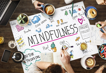 Relax Mindfulness Optimism Harmonie-Konzept Standard-Bild - 61478262
