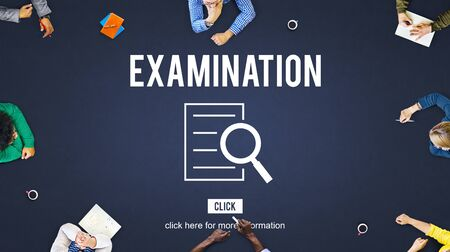discovery: Examination Results Discovery Investigation Concept