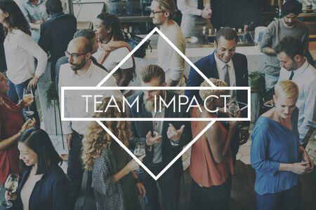 teambuilding: Team Teamwork Teambuilding Synergy Empower Concept