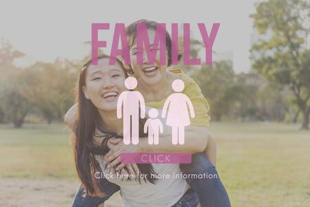 Family Care Genealogy Love Related Home Concept Stock Photo