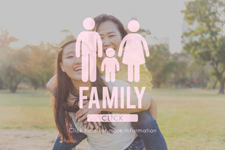 genealogy: Family Care Genealogy Love Related Home Concept Stock Photo