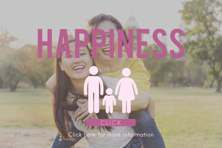 parenting: Love Home Care Happiness Parenting Concept