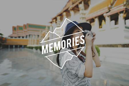 remember: Memories Memory Mind Recalling Remember Concept