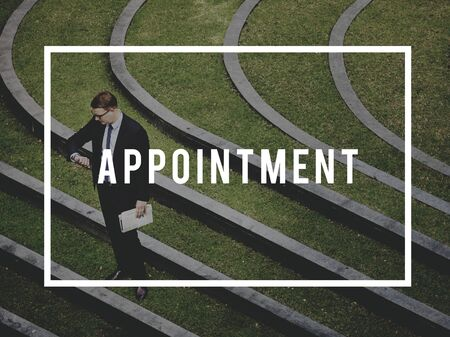 punctual: Agenda Appointment Calendar Postion Punctual Concept Stock Photo