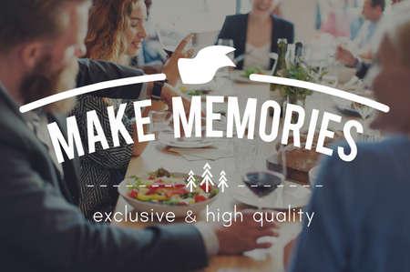 recordar: Recuerde memorias de almacenamiento Mente Recordando Concept