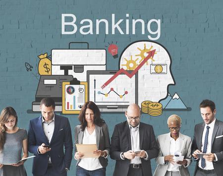 account executive: Banking Economy Finance Loan Money Concept