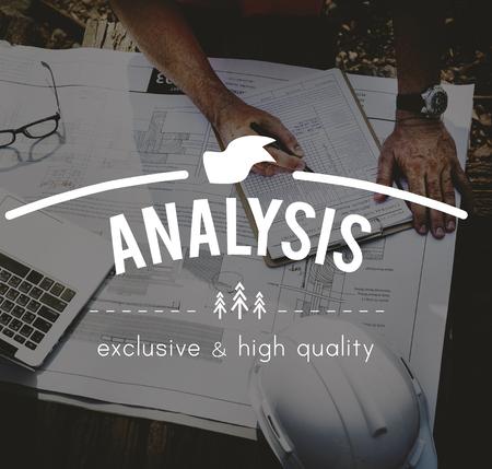 to analyze: Analysis Analytics Strategy Analyze Concept Stock Photo