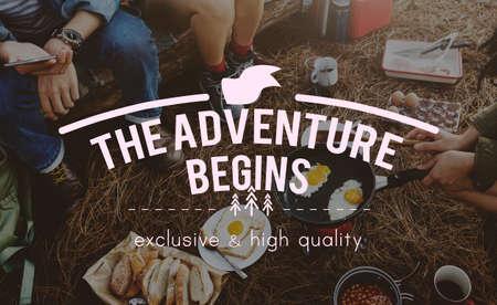 Adventure Destination Expedition Explore Trip Concept