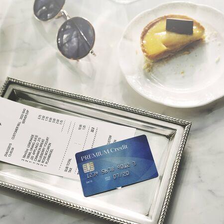 Credit Debit Card Financial Money Paying Balance Concept