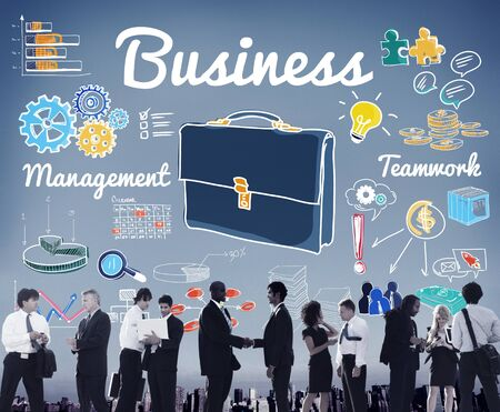 colleagues: Business Colleagues Corporate Expertise Management Concept