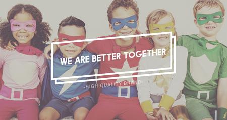 Together Community Family Friends Society Team Concept Zdjęcie Seryjne