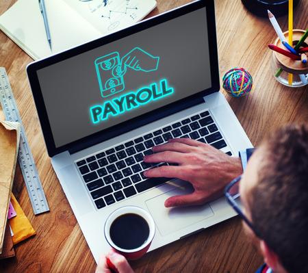 Payroll salarisbetaling Accounting Geldconcept