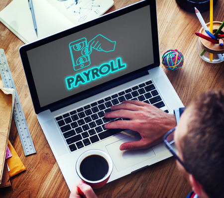 Payroll Salary Payment Accounting Money Concept Stock Photo