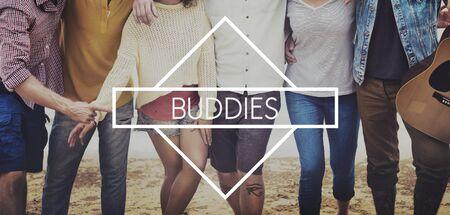 buddies: Buddies Friend Partnership Together Unity Concept